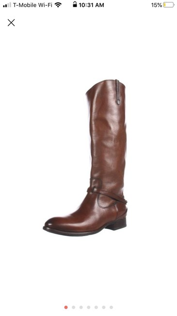 Frye Rosewood/Brown Lindsay Plate Knee High Boots/Booties Size US 7.5 Regular (M, B) Frye Rosewood/Brown Lindsay Plate Knee High Boots/Booties Size US 7.5 Regular (M, B) Image 1