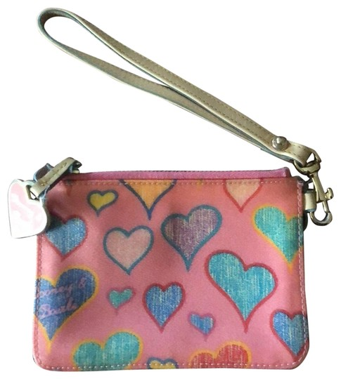 Preload https://img-static.tradesy.com/item/27510750/dooney-and-bourke-pink-with-a-strap-wallet-0-1-540-540.jpg