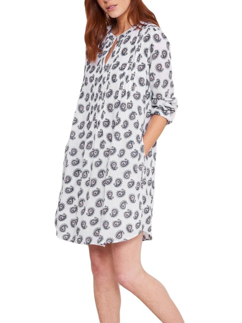 Roberta Roller Rabbit White Bennet Raga Mid-length Short Casual Dress Size 4 (S) Roberta Roller Rabbit White Bennet Raga Mid-length Short Casual Dress Size 4 (S) Image 1