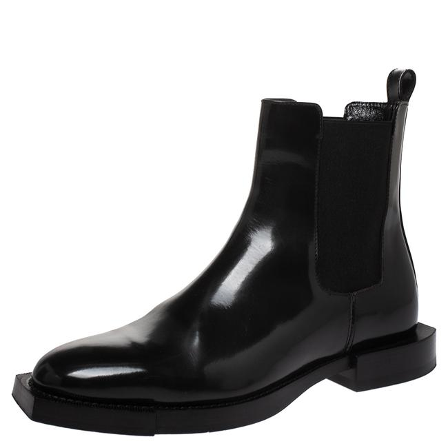 Alexander McQueen Black Leather and Elastic Slip On Ankle 38.5 Boots/Booties Size US 8 Regular (M, B) Alexander McQueen Black Leather and Elastic Slip On Ankle 38.5 Boots/Booties Size US 8 Regular (M, B) Image 1