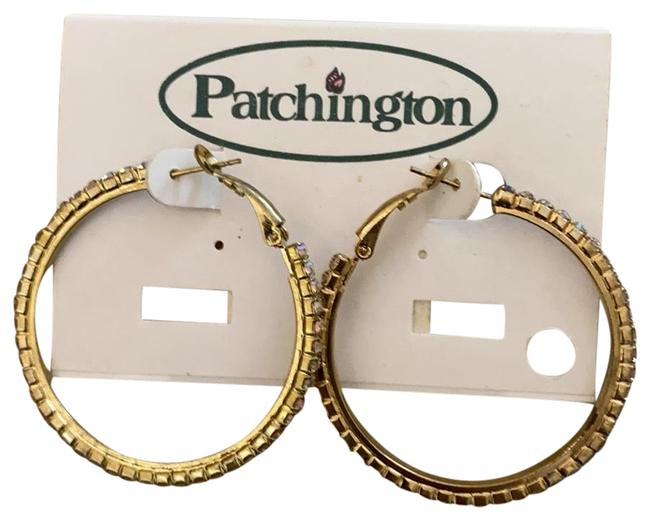 Patchington Gold Earrings Patchington Gold Earrings Image 1
