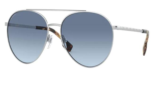 Burberry Silver 0be3115 100519 Sunglasses Burberry Silver 0be3115 100519 Sunglasses Image 1