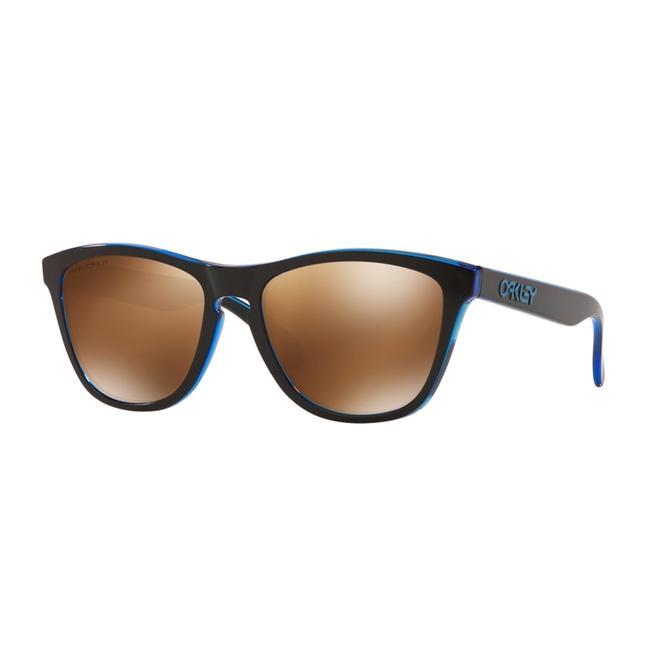Oakley Eclips Blue Frame & Tung Polarized Lens Oo9013-h955 Unisex Rectangular Sunglasses Oakley Eclips Blue Frame & Tung Polarized Lens Oo9013-h955 Unisex Rectangular Sunglasses Image 1