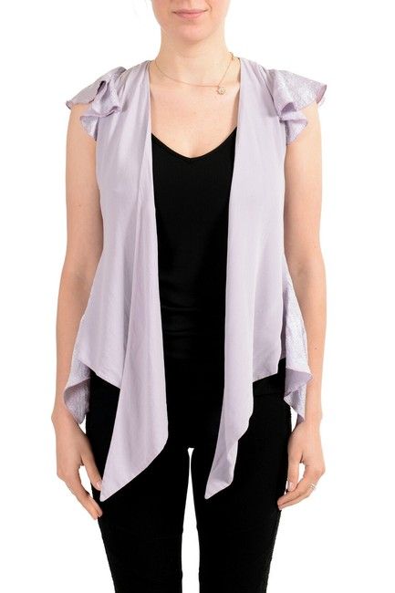 Just Cavalli Purple Women's Silk Blouse Size 8 (M) Just Cavalli Purple Women's Silk Blouse Size 8 (M) Image 1