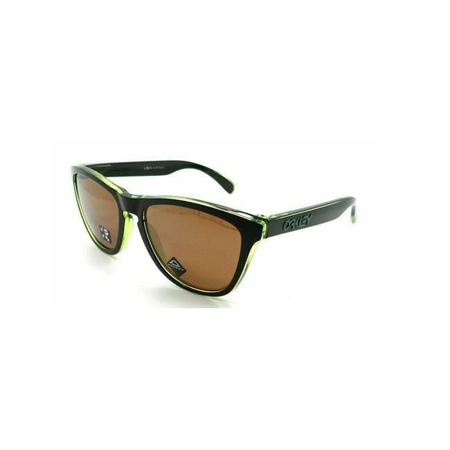 Oakley Eclips Green Frame & Tung Polarized Lnes Oo9013-i055 Unisex Rectangular Sunglasses Oakley Eclips Green Frame & Tung Polarized Lnes Oo9013-i055 Unisex Rectangular Sunglasses Image 1