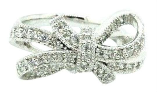 Preload https://img-static.tradesy.com/item/27511266/women-s-925-silver-sparkling-bow-cluster-band-knot-cz-425-20740-ring-0-2-540-540.jpg