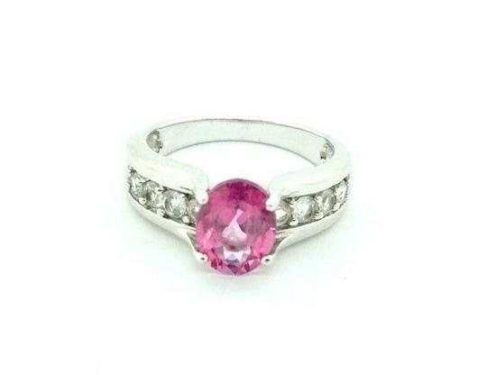 Preload https://img-static.tradesy.com/item/27511279/women-s-unique-engagement-cz-pink-sapphire-sterling-silver-20755-ring-0-1-540-540.jpg