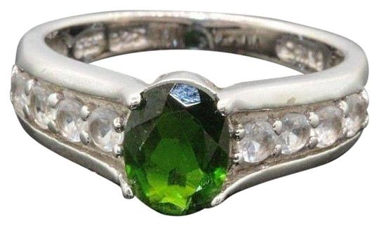 Preload https://img-static.tradesy.com/item/27511281/deep-forest-green-and-cz-stone-sterling-silver-wedding-engagement-20092-ring-0-2-540-540.jpg