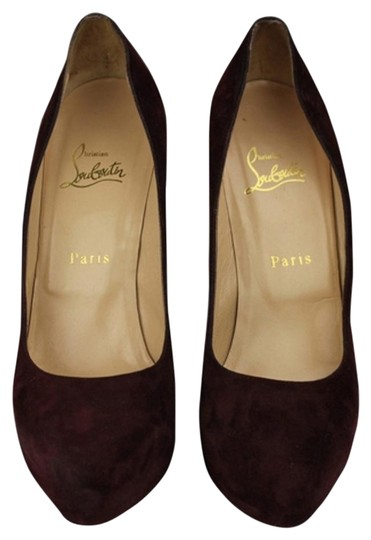 Preload https://item4.tradesy.com/images/christian-louboutin-maroon-suede-platforms-2751133-0-3.jpg?width=440&height=440