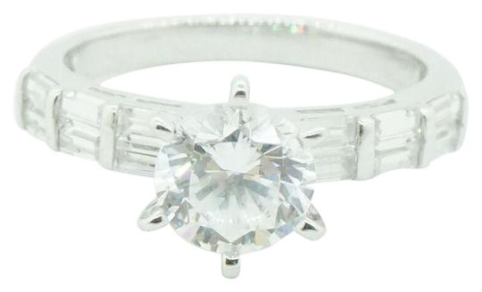 Preload https://img-static.tradesy.com/item/27511337/women-s-sterling-silver-925-round-cz-engagement-wedding-21588-ring-0-2-540-540.jpg