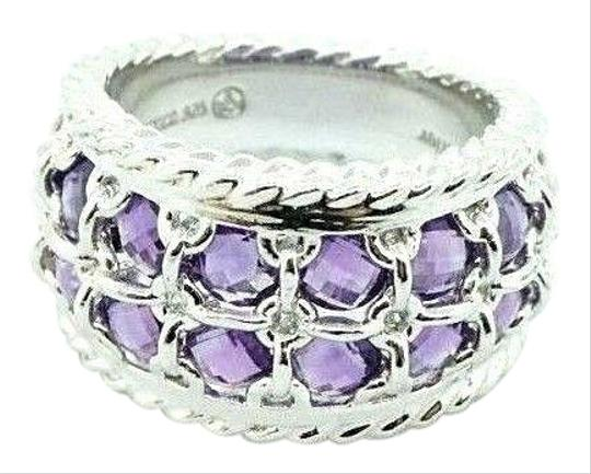 Preload https://img-static.tradesy.com/item/27511350/atelier-mexico-sterling-silver-purple-amethyst-faceted-band-rope-20747-ring-0-2-540-540.jpg