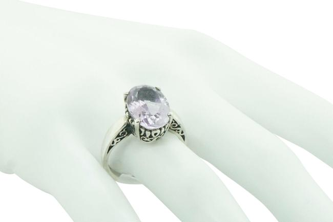 Women's Sterling Silver 925 with Amethyst 4ct Stone Free Shipping #21671 Ring Women's Sterling Silver 925 with Amethyst 4ct Stone Free Shipping #21671 Ring Image 1