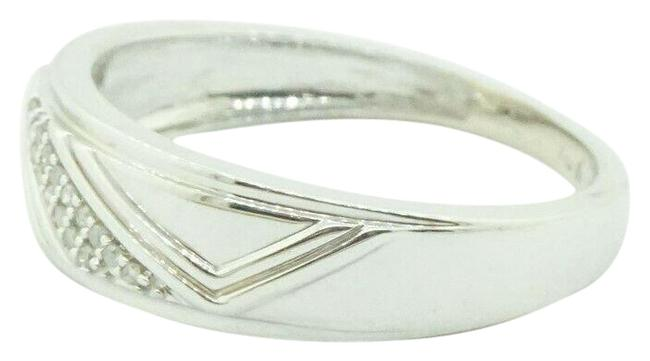 10k White Gold with Diamond's For Women's Sizable 3.1 Grams #21774 Ring 10k White Gold with Diamond's For Women's Sizable 3.1 Grams #21774 Ring Image 1