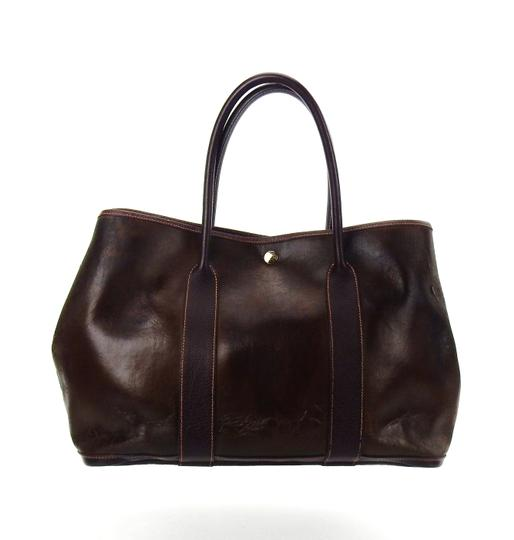 Preload https://img-static.tradesy.com/item/27511383/hermes-garden-party-vintage-shoulder-brown-amazonia-leather-weekendtravel-bag-0-0-540-540.jpg