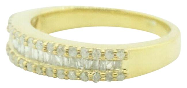 Women's Sterling Silver 925 Gold Plated Diamond - 0.60 Size 7 #21836st Ring Women's Sterling Silver 925 Gold Plated Diamond - 0.60 Size 7 #21836st Ring Image 1