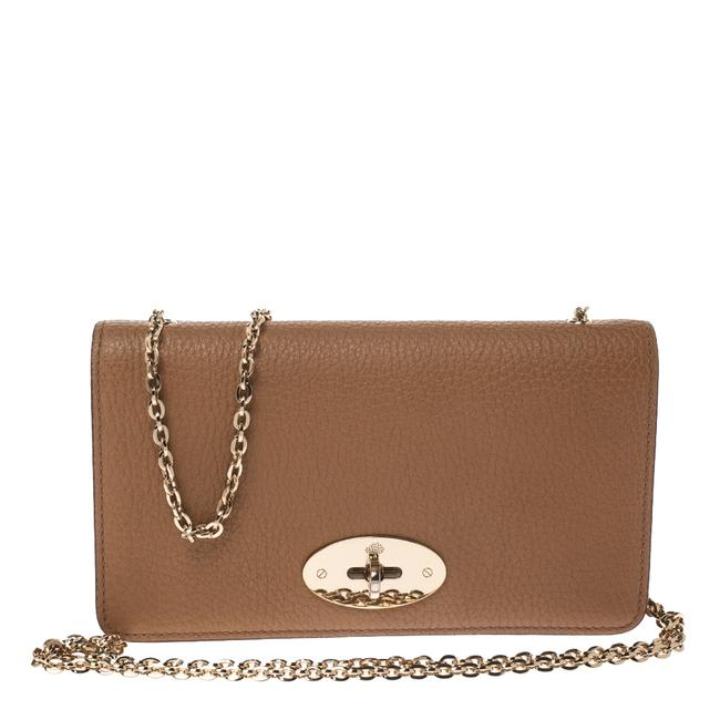Mulberry Bayswater Chain Brown Leather Clutch Mulberry Bayswater Chain Brown Leather Clutch Image 1