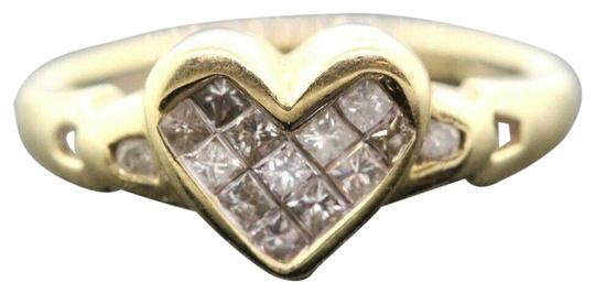 Preload https://img-static.tradesy.com/item/27511492/women-s-14k-yellow-gold-diamond-heart-015-tcw-27g-sizable-30124-ring-0-2-540-540.jpg