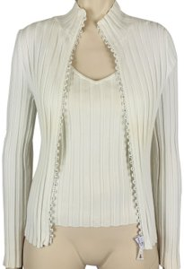 Belldini Soft Stretchy Crystal Twinset Sweater
