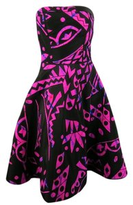 Oscar de la Renta Full Skirt Circle Skirt Dress