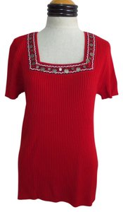 RQT Nwt Decorative Neckline Sweater