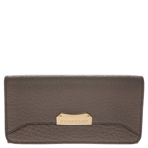 Burberry Burberry Light Brown Leather Continental Wallet