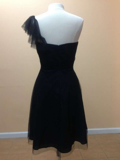 Alfred Angelo Jet Soft Net 8608s Formal Bridesmaid/Mob Dress Size 12 (L)