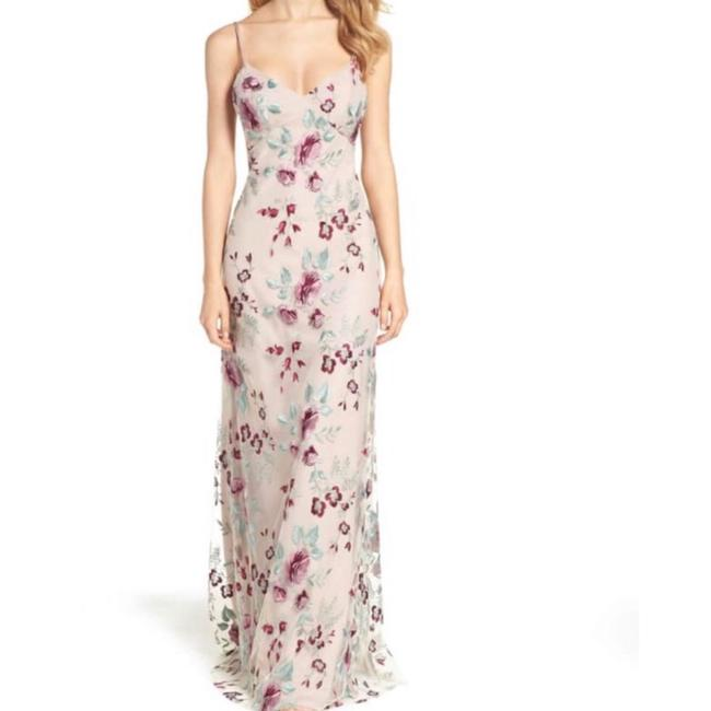 Item - Julianna Embroidered Long Formal Dress Size 6 (S)