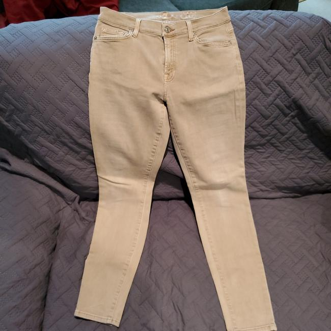 Item - Tan The Ankle Skinny Jeans Size 29 (6, M)