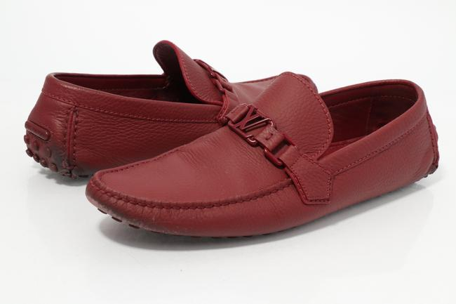 Item - Red Hockenheim Loafers Shoes
