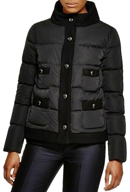 Item - Black Naimi Down Quilted Jacket Size 14 (L)