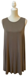 Cupio short dress Taupe on Tradesy