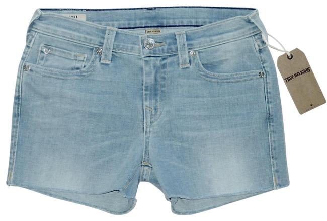Item - Blue Cora Mid Rise Straight 28 Shorts Size 6 (S, 28)