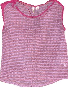Route 66 Top Purple with pink and blue detail
