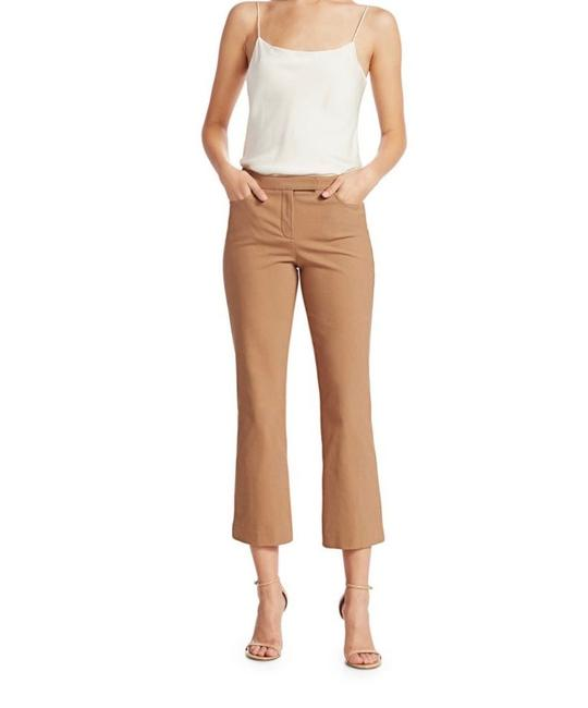 Item - Camel Cropped Straight-leg Trousers Pants Size 0 (XS, 25)