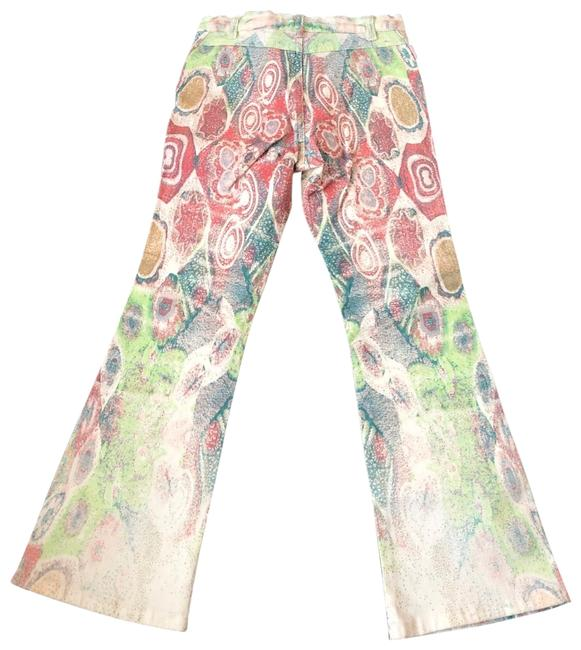 Item - Pink/Blue/Green Girl Angels Girl's Printed Flare Leg Jeans Size OS (one size)