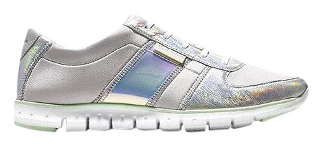 Item - Gray Zerogrand Vapor and Iridescent Sneakers Size US 6.5 Regular (M, B)