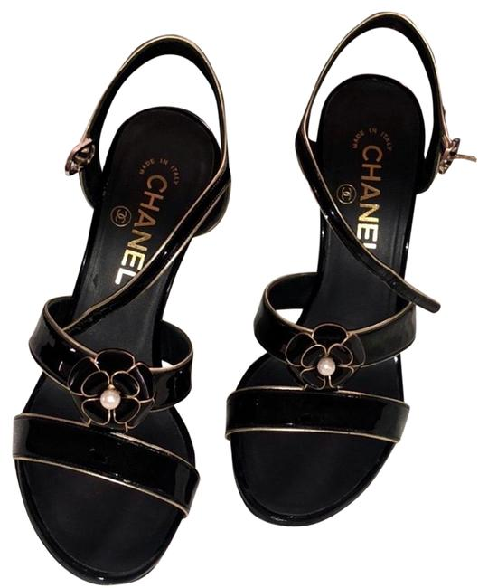 Item - Black and Gold G33476 Formal Shoes Size EU 37 (Approx. US 7) Regular (M, B)