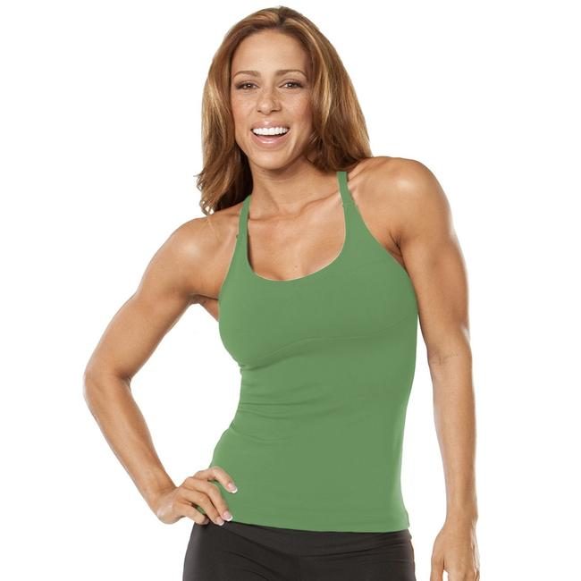 Item - Green Lux Activewear Top Size 4 (S)