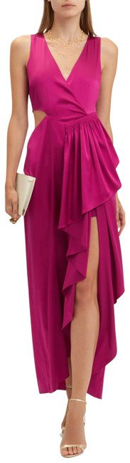 Item - Pink Cantor Cutout Long Formal Dress Size 6 (S)