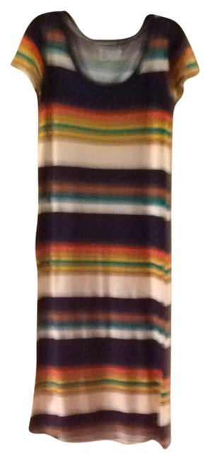 Multi Stripe Maxi Dress by Anthropologie