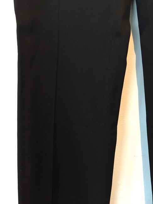 Burberry Wide Leg Pants black