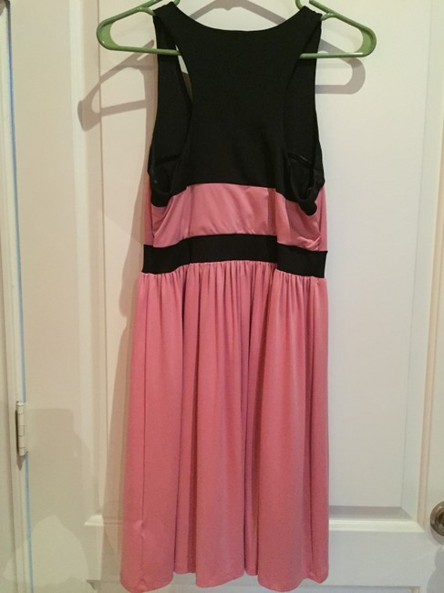 Wish short dress Pink and Black on Tradesy