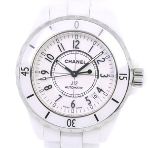 Chanel CHANEL J12 H0970 Ceramic self-winding unisex white dial watch