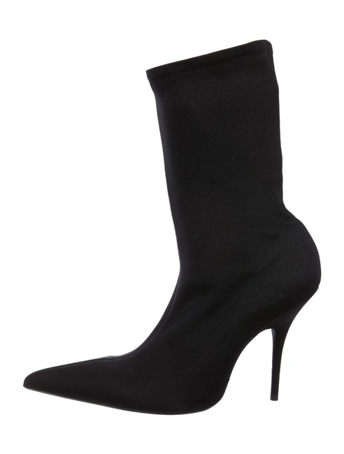 Item - Black Pointed-toe Boots/Booties Size EU 38 (Approx. US 8) Regular (M, B)