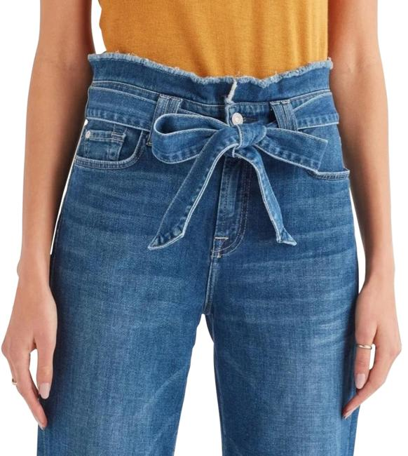 Item - Blue Medium Wash XS Paperbag Alexa In Bayberry Capri/Cropped Jeans Size 24 (0, XS)