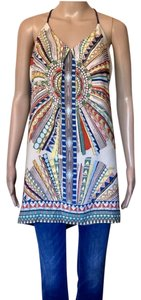 Glam short dress Geometric Pattern on Tradesy