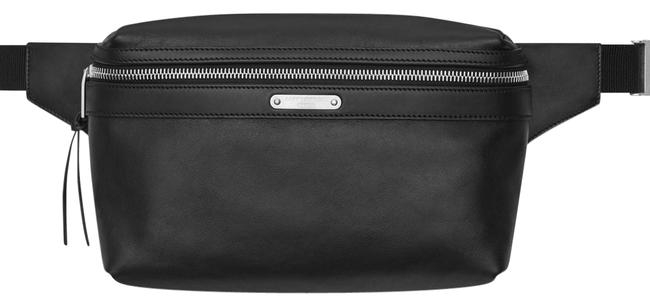 Saint Laurent Belt Bag City In Black Leather Clutch Saint Laurent Belt Bag City In Black Leather Clutch Image 1