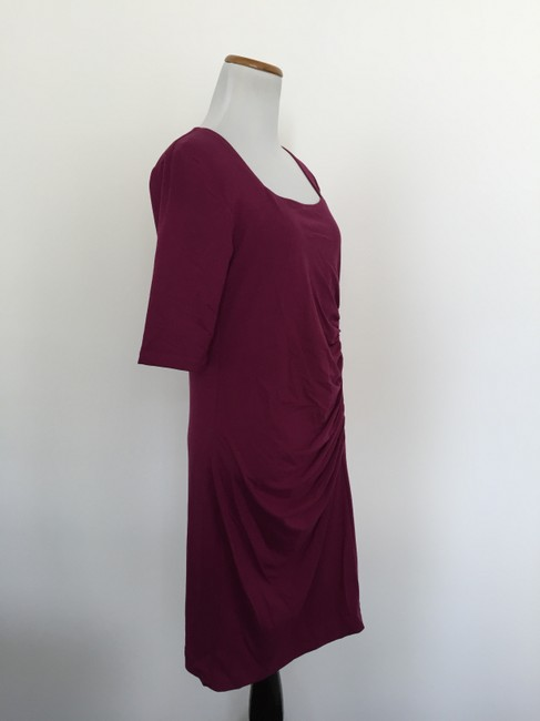Isabella Oliver short dress burgundy on Tradesy