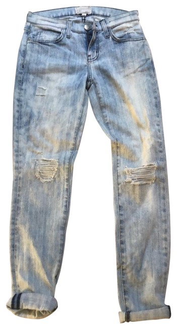 Item - Distressed The Ankle Cheville Skinny Jeans Size 0 (XS, 25)