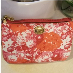Coach Wristlet in Pink / White